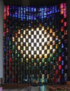 John Piper Baptistry window at Coventry Cathedral