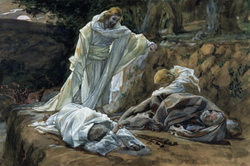 The Agony in the Garden, illustrated by James Tissot